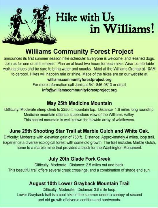 WCFP hike flyer